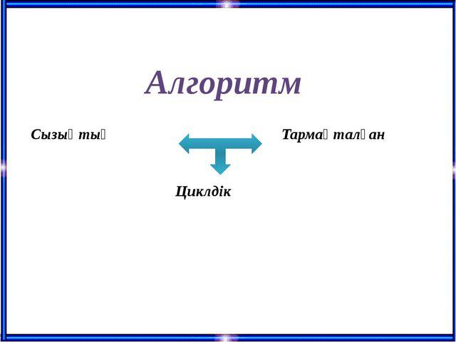 Алгоритм Сызықтық Тармақталған Циклдік