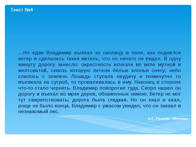 …Но едва Владимир выехал за околицу в поле, как поднялся ветер и сделалась та...