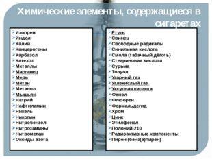 Изопрен Индол Калий Канцерогены Карбазол Катехол Металлы Марганец Медь Метан