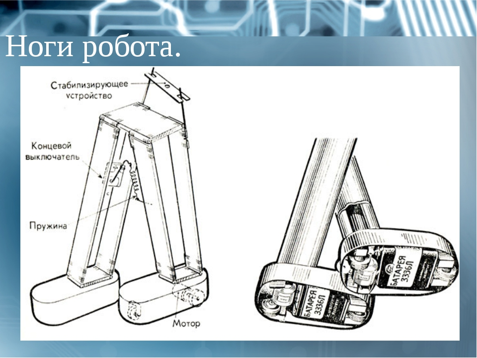 Ноги робота.
