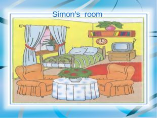 Simon's room