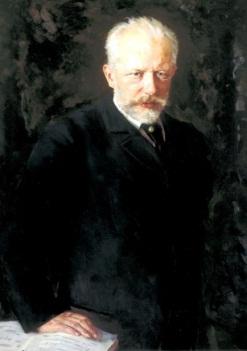 Портрет Петра Ильича Чайковского