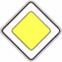 Стихи о дорожных знаках. Дорожный знак. Главная дорога.