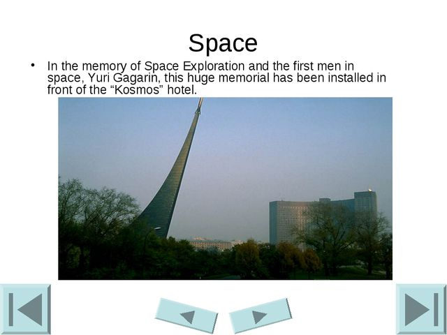 Space In the memory of Space Exploration and the first men in space, Yuri Gag...