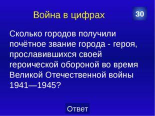 Прикамье В каком году началась Великая Отечественная война? 10 Категория Ваш