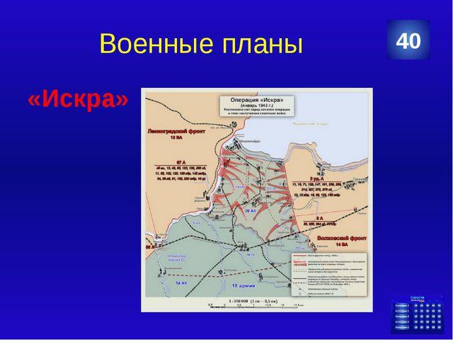 Военные планы «Берли́нская наступательная операция» 50 Категория Ваш ответ