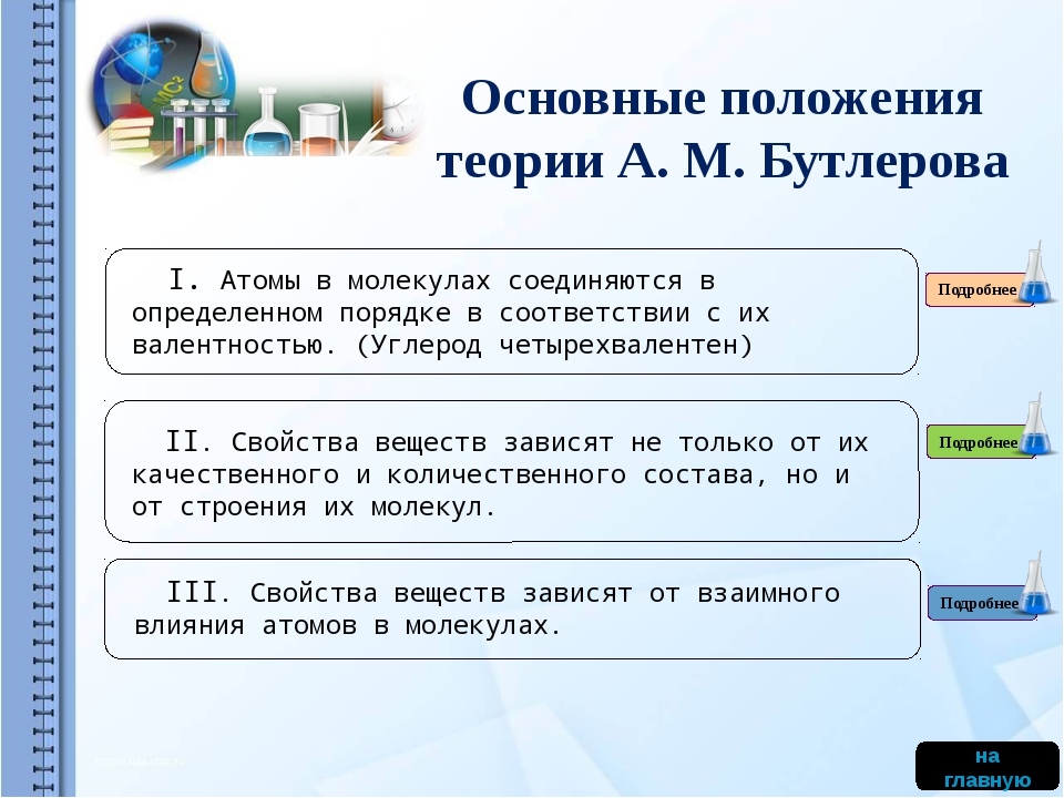 Биография А.М. Бутлерова продолжить Русский химик Александр Михайлович Бутле...