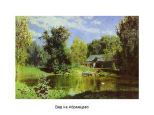 Вид на Абрамцево