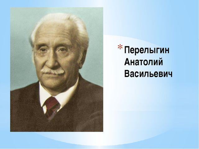 Перелыгин Анатолий Васильевич