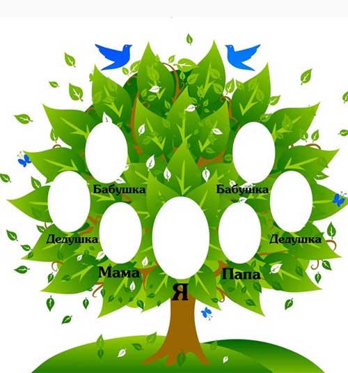 Сделай генеалогическое дерево сам