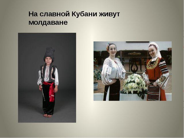 На славной Кубани живут молдаване