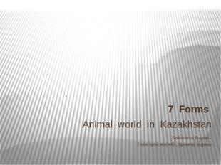 Animal world in Kazakhstan Sakenova Bayan. Қопа орта мектебі , Хромтау аудан