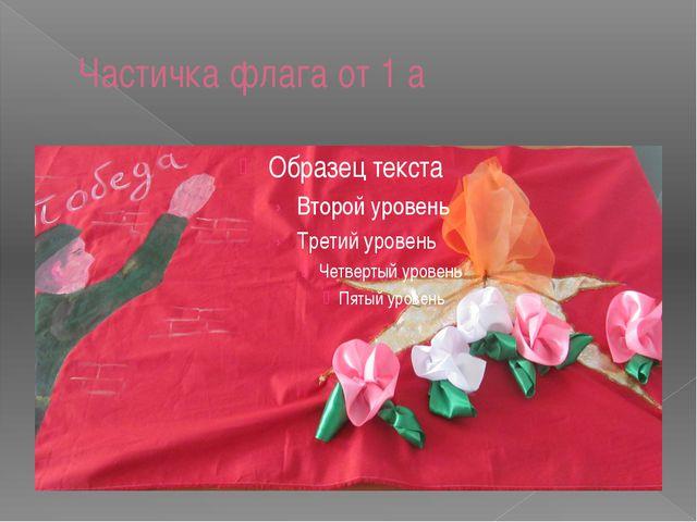 Частичка флага от 1 а