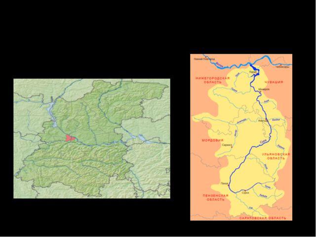 В бассейне реки 1920 рек и ручейков, протяженностью около 5300 км