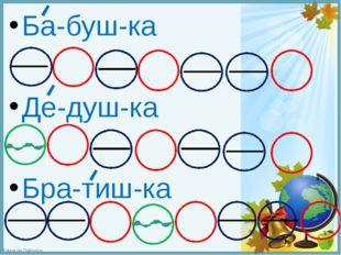 Ба-буш-ка Де-душ-ка Бра-тиш-ка FokinaLida.75@mail.ru