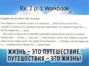 Ex. 2 p. 1 Workbook
