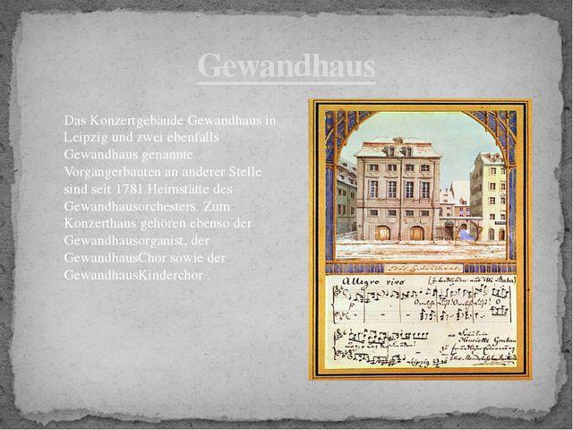 Gewandhaus Das Konzertgebäude Gewandhaus in Leipzig und zwei ebenfalls Gewand...