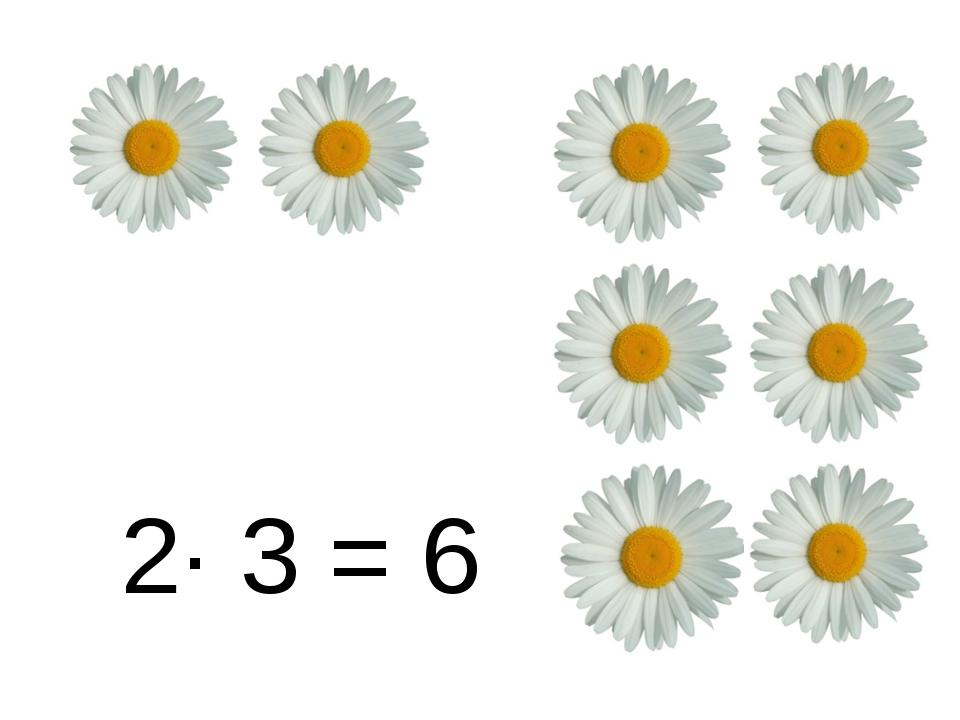 2∙ 3 = 6
