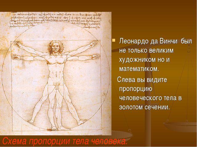 Леонардо да Винчи был не только великим художником но и математиком. Слева вы...