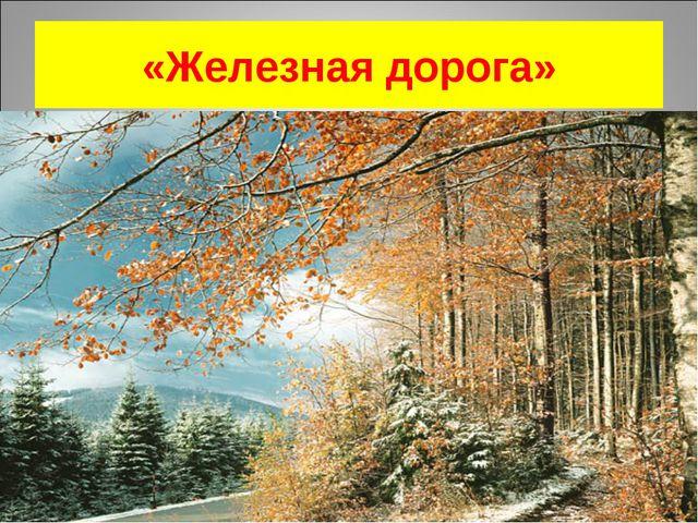 «Железная дорога»
