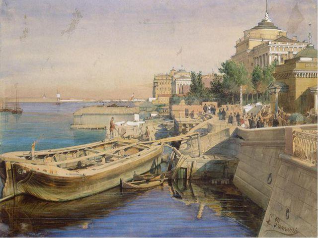 1839-40 – посещение занятий в университете в качестве вольнослушателя. В Пете...