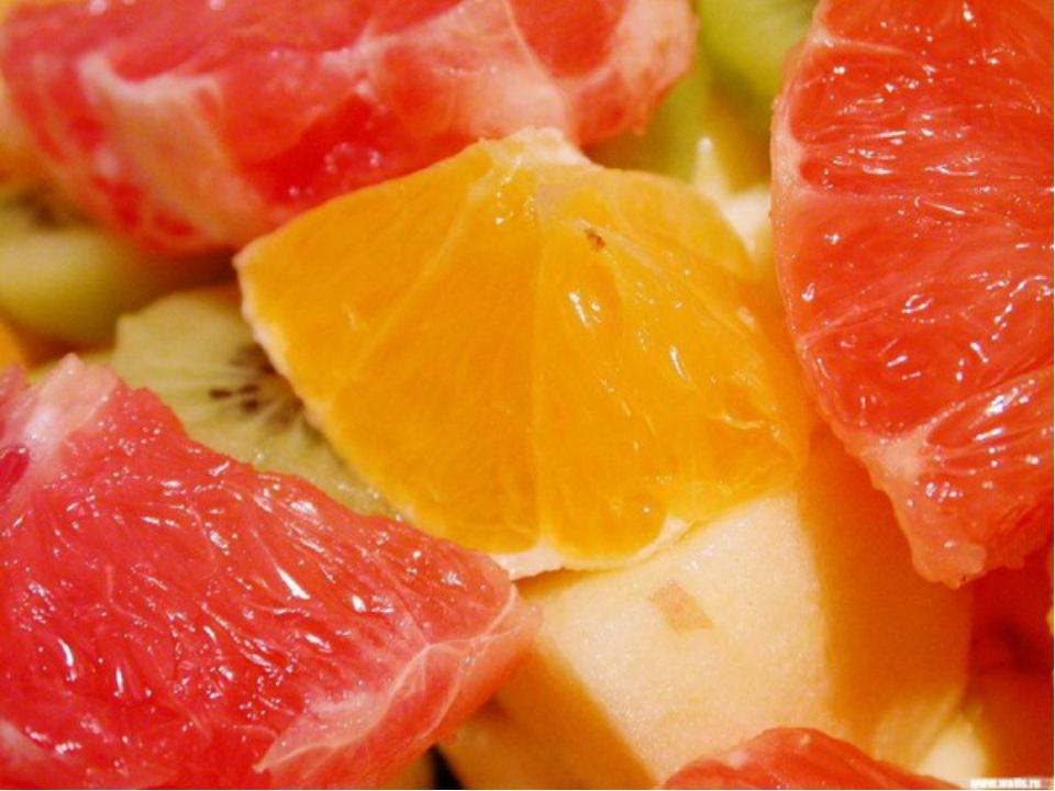 ГРЕЙПФРУТ - против старения хрусталика. В грейпфрут входит много полезных вещ...