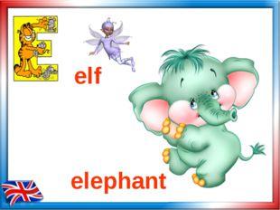 elf elephant