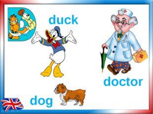 doctor dog duck