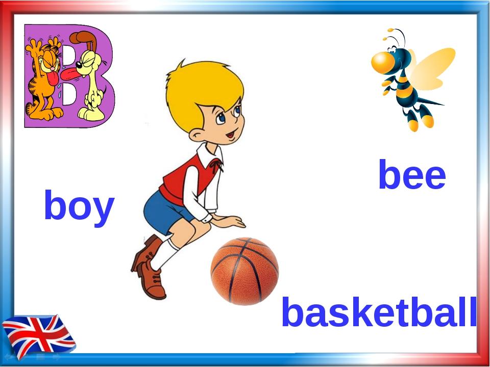 bee basketball boy