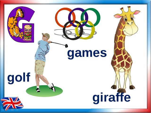 giraffe games golf