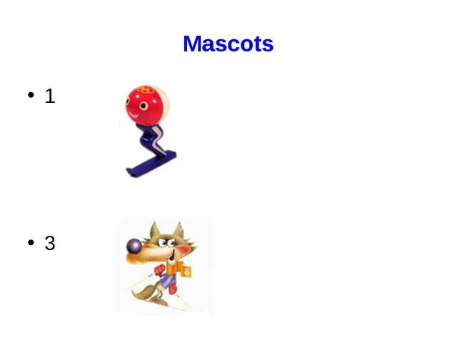 Mascots 1 3