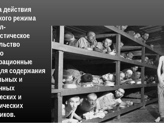 С начала действия нацистского режима национал-социалистическое правительство...