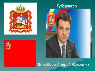 Губернатор Воробьёв Андрей Юрьевич