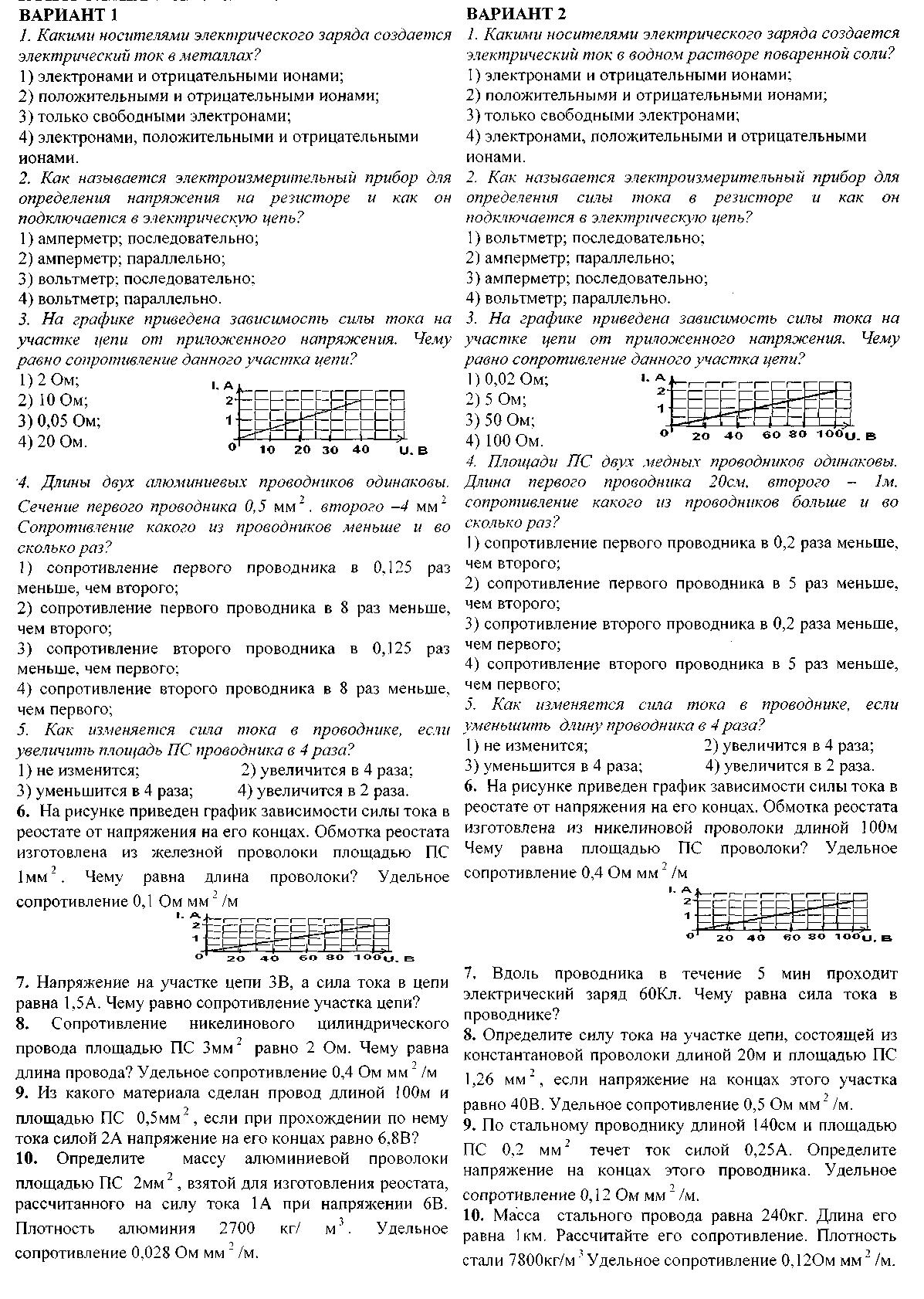 Лабораторная работа по физике 8 класс шахмаев