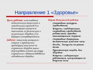 Цель работы: использование педагогических технологий и методических приёмов д