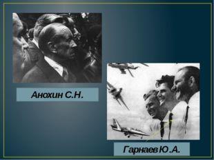 Анохин С.Н. Гарнаев Ю.А.
