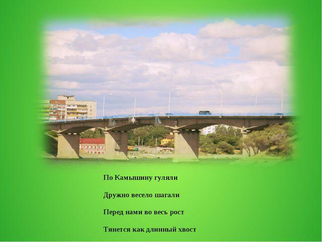 По Камышину гуляли Дружно весело шагали Перед нами во весь рост Тянется как д...