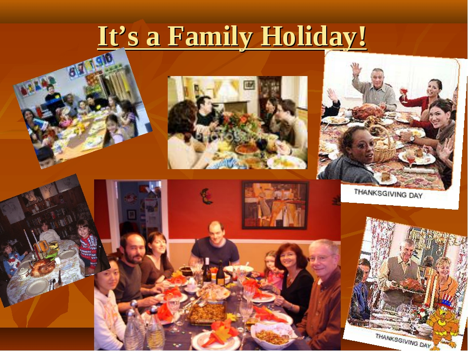 It's a Family Holiday!