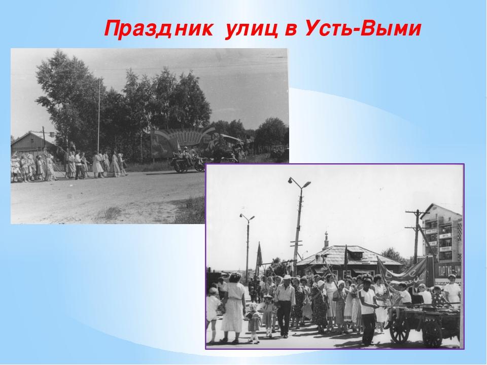 Праздник улиц в Усть-Выми