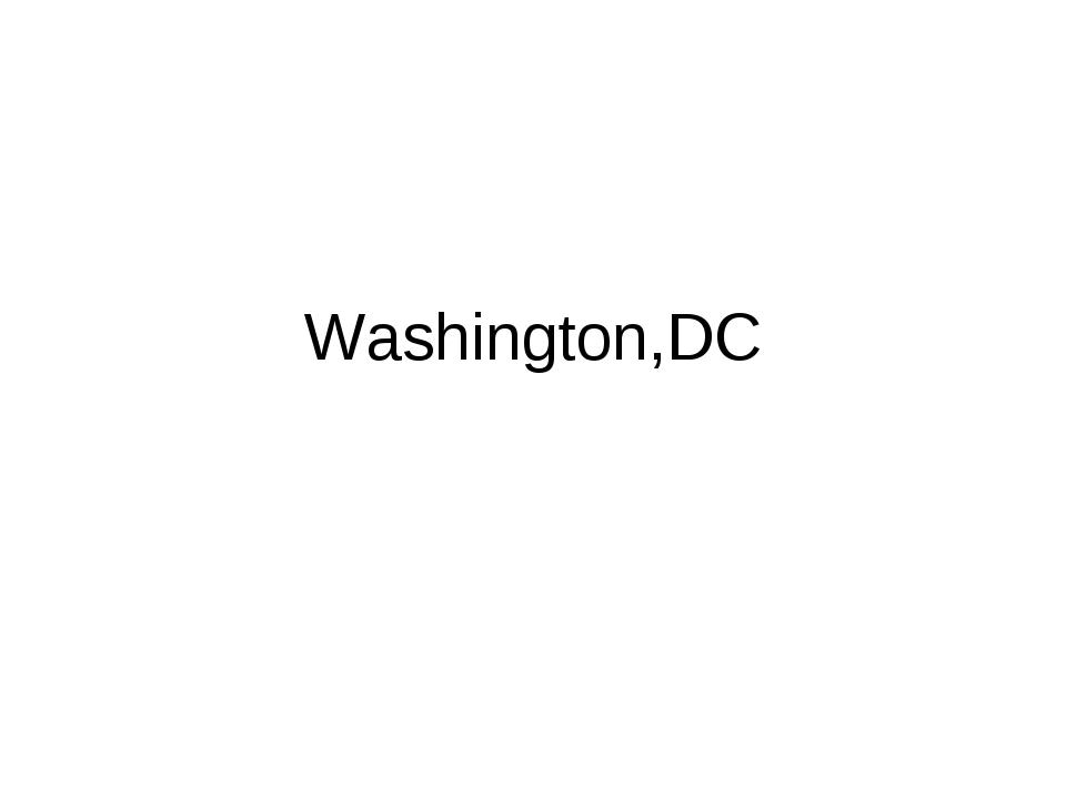 Washington,DC