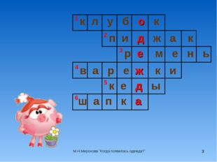 * к л у б о к п и д ж а к ш а п к а р е м е н ь в а р е ж к и к е д ы 1 2 3 4