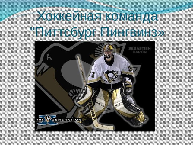 "Хоккейная команда ""Питтсбург Пингвинз»"