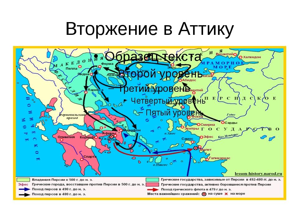 Вторжение в Аттику