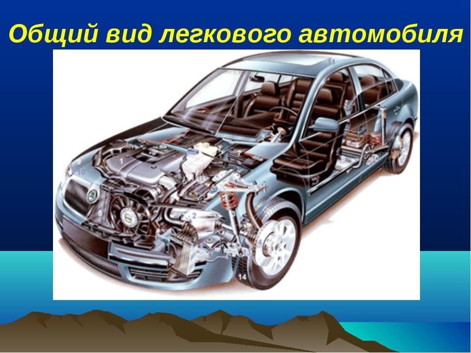 Общий вид легкового автомобиля