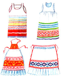 Русский национальный костюм - Мода - Картинки по технологии