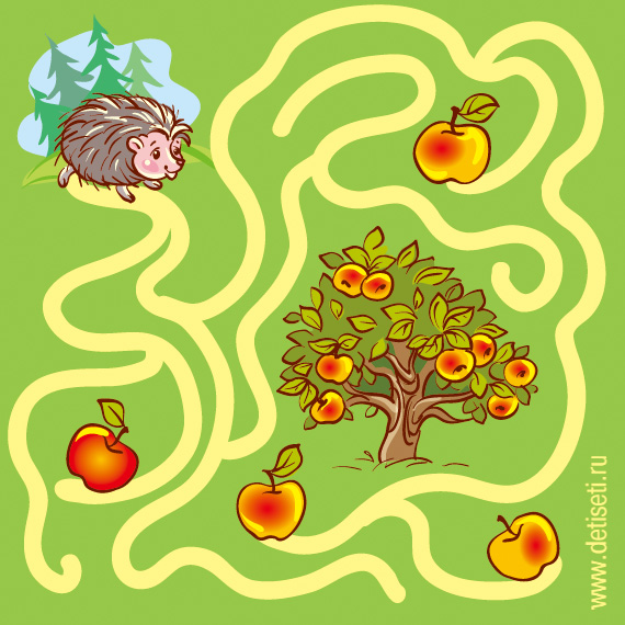 Яблоки для ёжика