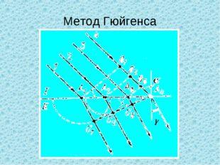 Метод Гюйгенса γ