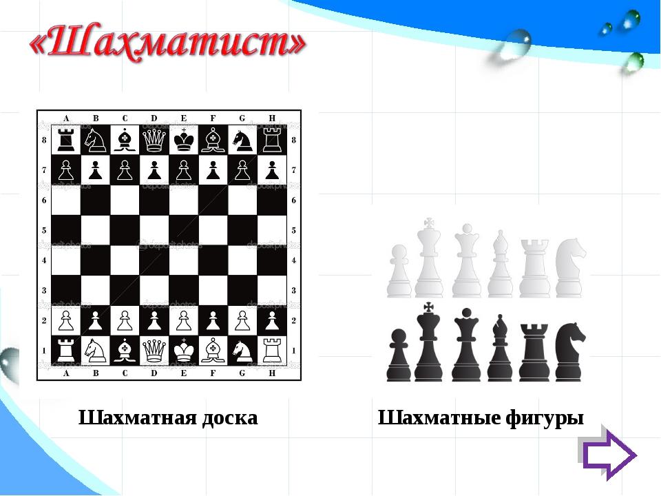 Шахматные фигуры Шахматная доска