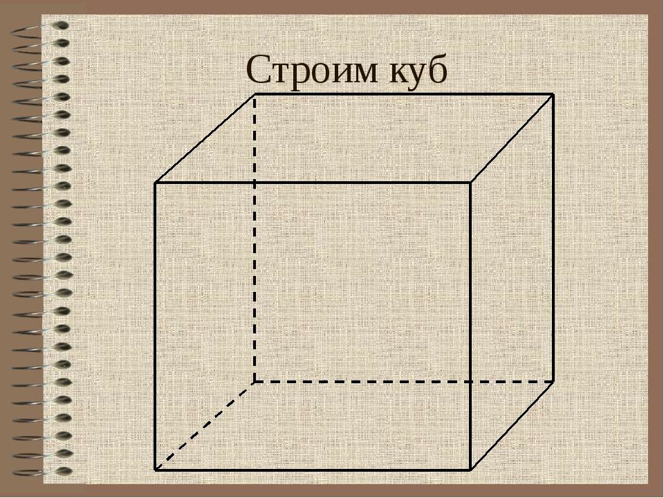 Строим куб