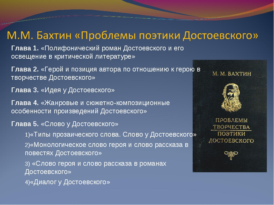 Глава 1. «Полифонический роман Достоевского и его освещение в критической лит...